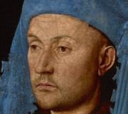 jan van Eyck, man met de blauwe kaproen